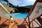 The peace of a love nest surrounded by olive trees Andante Tuscany